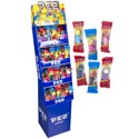 Candy Pez Favorites Shipper Asst Characters 112 Disp 32 Refill
