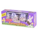 Easter Candy Big Bunny Bites Choc Creme 4x1 Oz Eggs Wndw Box Foil Wrapped Jumbo Eggs