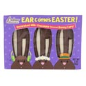 Easter Candy Ear Comes Easter 3 Oz Milk Chocolate Flavored