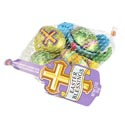 Easter Candy Easter Blessings 3.3 Oz Milk Choc Flav Eggs Creamy Center Mesh Bag