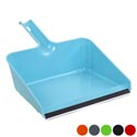 Dust Pan Jumbo W/rubber Lip 11.5in 6 Colors In Pdq #20045