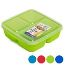 Food Storage 3 Compartment Square 5 Asst Colors Pdq #193016 #193016