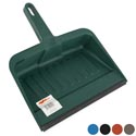 Dust Pan W/rubber Lip 12in Heavy Duty 5 Colors #dp007
