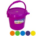 Play Pail With Cover & Handle 84 Oz 6 Colors #milky 333 W/lid