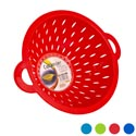 Colander W/2 Handles 6 Colors 11in Dia X 4.5in H 154g