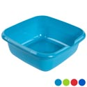 Dish Pan 13.5 Square X 5h 4 Colors In Pdq