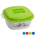 Food Server 1.5 Qt Floral Dome Lid Grip Handle Lids #1366