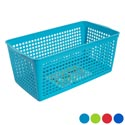 Storage Basket Rectangular Slotted 4 Colors In Pdq 11.81 X 6.10 X 4.92 #glory 101