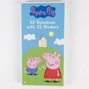 Valentine Cards 32ct Peppa Pig W/stickers *2.99* Boxed