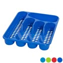 Cutlery Tray 5 Section 4 Colors 2 Styles- Slotted/solid In Pdq