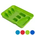 Cutlery Tray 5 Section 6 Colors 2 Styles- Slotted/solid In Pdq