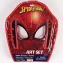 Art Set Case Spiderman Small 24pc Set *7.99* Ref #as41698