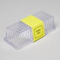 Butter Dish Clear With Lid 8 X 2-7/8 X 2-1/4 In Pdq W/printed Sleeve
