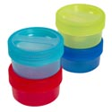 Food Storage Container 26 Oz W/screw Top Lid 4 Colors In Pdq