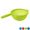Strainer 9.5 Inch Round With Long Handle 4 Colors #strainer Big