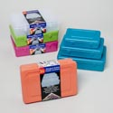 Storage & Craft Containers 3pc Set (medium) 5 Colors #maxima 666, 555, 444