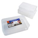 Storage & Craft Container 3pc Set (large) All Clear