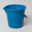 Bucket With Spout And Handle Recycled 5 Gallon 4 Colors 380g Blue, Black, Red, Grey