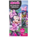 Valentine Cards 27ct Minnie Mouse Lenticular Stickers *2.99*