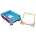 Tray Letter Size 4 Colors In Pdq 13 X 9.8 X 2.3  St-3935 St-3935