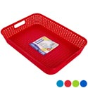 Tray/basket Rect 4 Colors In Pdq 13.7 X 10.0 X 2.5  St-3937 St-3937