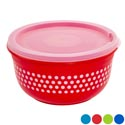 Food Storage 7.6 Cup Printed Round In Pdq Solitaires #21551-p