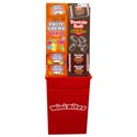 Candy Mixed Mini Bites 3.5 Oz Tootsie Rolls & Fruit Chews Floor Display
