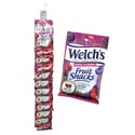 Fruit Snack Welchs 2.25 Oz Bag Merch Strip Berries + Cherries