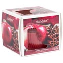 Candle Scented 3oz Window Boxed Apple Cinnamon Made In Usa