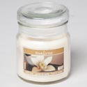 Candle Scented Apothecary Jar W/lid 3oz Vanilla Bean Starlytes