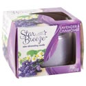 Candle Jar 3oz Lavender Fields Star Breeze Odor Eliminating 43128
