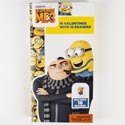 Valentine Cards 16ct Despicable Me3 W/erasers *2.99* Boxed