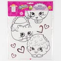 Valentine Mailbox Shopkins Create Your Own 16ct *3.99*
