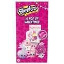 Valentine Cards 16ct Shopkins Pop Up *2.99* Boxed