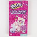Valentine Puzzles 16ct Shopkins Boxed
