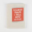 Journal Canvas Tourist Trap Silver Accents,lg Spine *16.00* 192pg Lgt Ruled 6x8 # Jos2-15763
