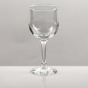 Drinkware Wine Stem 8 Oz Clear Glass Tulipe 04556