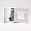 Coffee Mug 14oz Embossed Gift Bx Teachers Are A Gift *14.00* Dolomite # Qmb4-16379