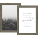 Framed Art W/easel Set Of 2 Wood 14x10 You're My Place Of Quiet *24.99*