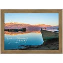 Wall Decor 14x10 Wood Frame Live For The Moment *19.99*