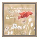 Canvas 14x14x1 Wood Frame Bloom With Grace *19.99*