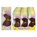 Easter Candy Little Beauty Choco Decorated Bunny 1-oz Boxed/pdq In Window Box