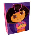 Gift Bag Dora The Explorer Xl 15x12x5