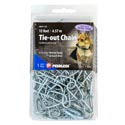 Dog Tie-out Chain 15 Feet W/2 Swivel Snaps Peerless