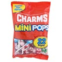 Lollipops Charms Mini-pops Random Flv 22ct/bag Mdsg Strip