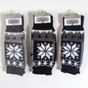 Gloves Winter Texting 3 Assorted (5.00) Black, Navy, And Gray