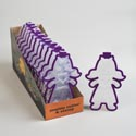 Cookie Cutter Zombie Girl Colorful Grip 6-12pc Cdu *2.99*