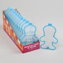 Cookie Cutter Skeleton Colorful Grip 6-12pc Cdu *2.99*