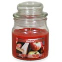 Candle Scented Apothecary Jar Rustic Apple 3 Oz