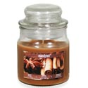 Candle Scented Apothecary Jar Warm Spice 3 Oz